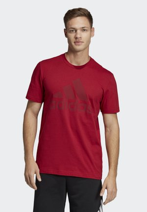 MUST HAVES BADGE OF SPORT T-SHIRT - Sportshirt - red