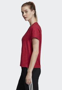 adidas Performance - ID WINNERS ATT-SHIRTTUDE T-SHIRT - T-shirts med print - red - 2