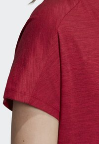 adidas Performance - ID WINNERS ATT-SHIRTTUDE T-SHIRT - T-shirts med print - red - 7