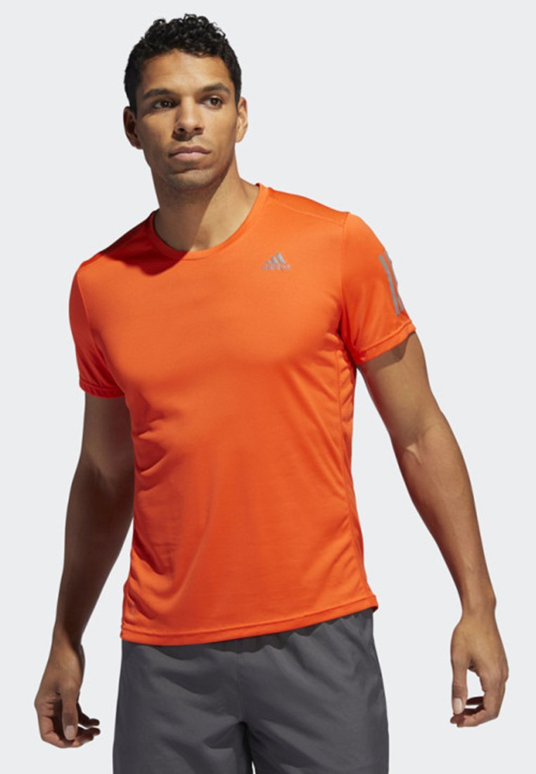 adidas Performance - OWN THE RUN T-SHIRT - T-shirt imprimé - orange