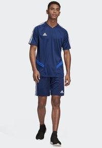 adidas Performance - TIRO 19 TRAINING JERSEY - T-shirt print - blue - 1