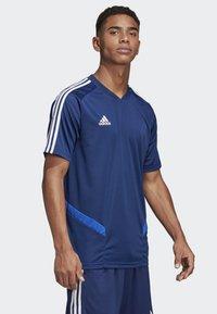 adidas Performance - TIRO 19 TRAINING JERSEY - T-shirt print - blue - 3