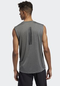 adidas Performance - FREELIFT TECH CLIMACOOL 3-STRIPES TANK TOP - Toppi - grey - 1