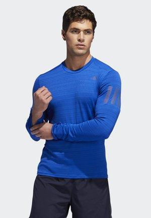 RISE UP N RUN LONG-SLEEVE TOP - T-shirt de sport - blue