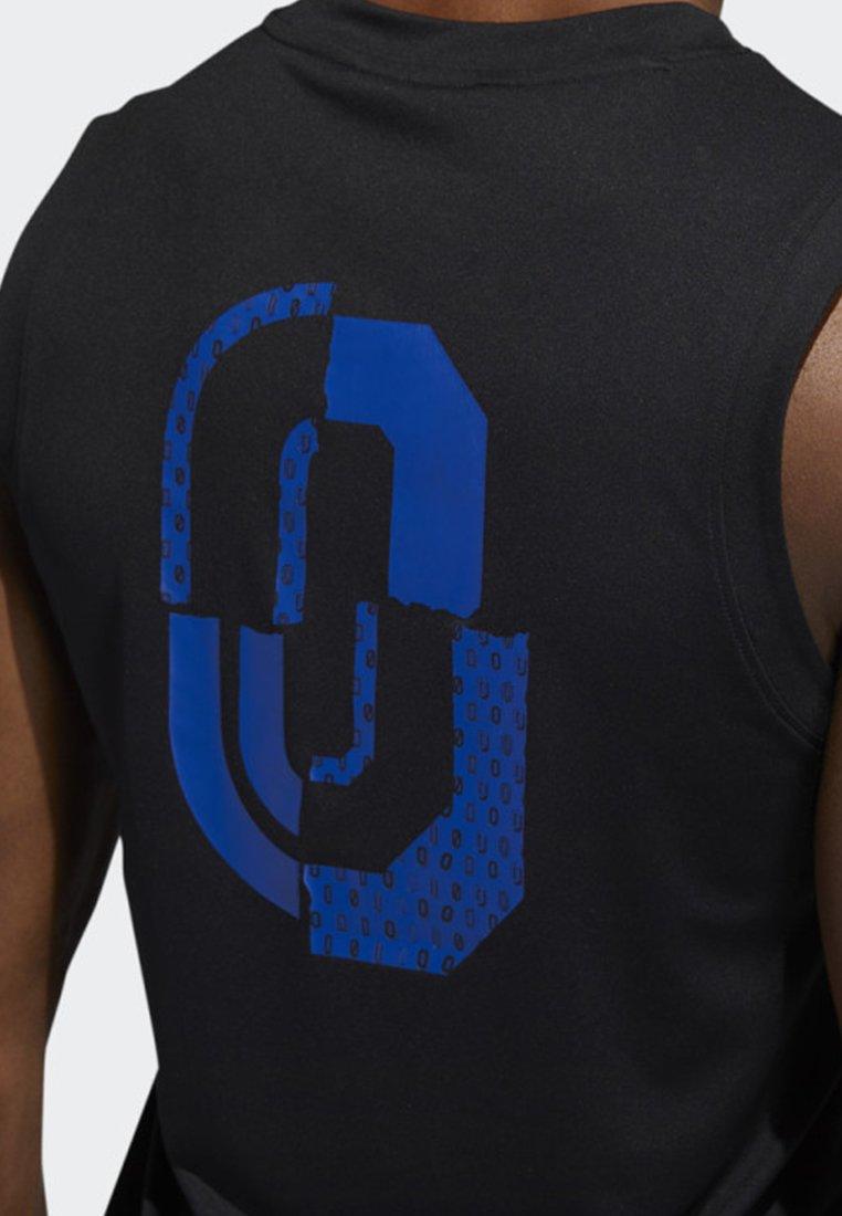 Dame Black TopT Adidas Performance Sport Tank shirt De orBxeWdC