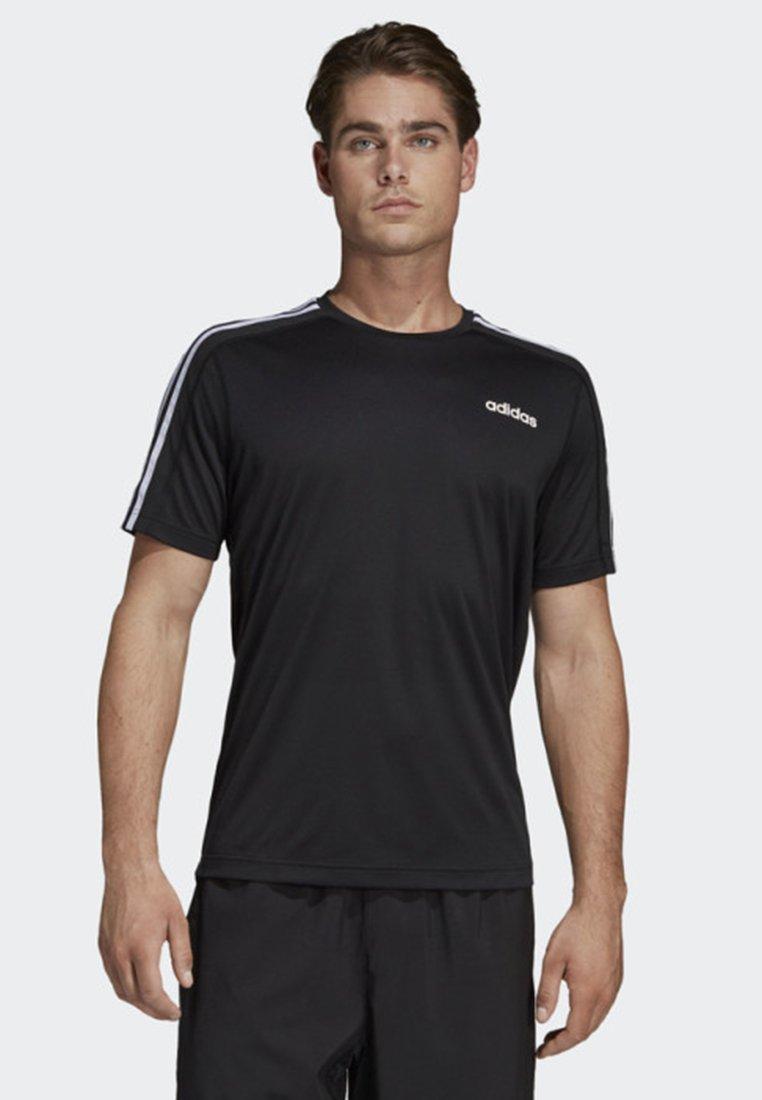 3 Design T Move 2 shirtImprimé Adidas stripes Black Performance eH9WYEb2DI