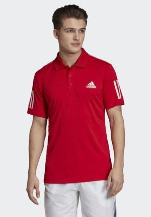 3-STRIPES CLUB POLO SHIRT - Polo shirt - red