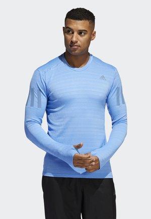 RISE UP N RUN LONG-SLEEVE TOP - Langærmede T-shirts - blue