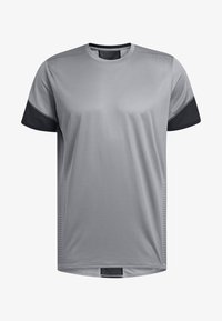 adidas Performance - 25/7 RISE UP N RUN PARLEY T-SHIRT - Print T-shirt - grey - 4