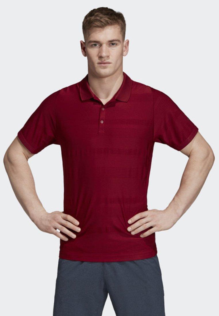 adidas Performance - MATCHCODE POLO SHIRT - T-shirt sportiva - red