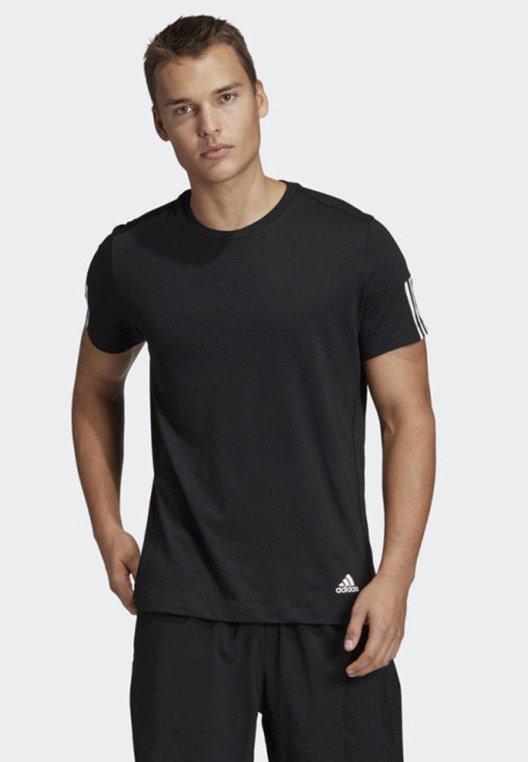 adidas Performance - RUN IT T-SHIRT - Print T-shirt - black
