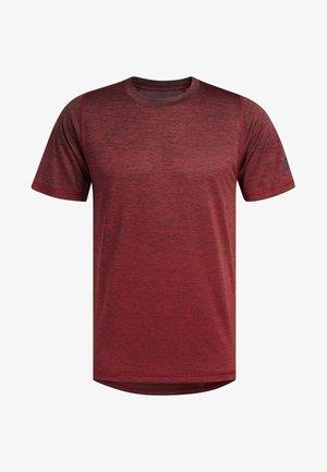 FREELIFT 360 GRADIENT GRAPHIC T-SHIRT - T-shirt print - red