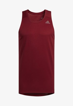RISE UP N RUN SINGLET - Funktionstrøjer - red