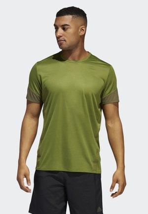 25/7 RISE UP N RUN PARLEY T-SHIRT - T-shirt med print - green