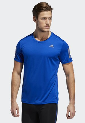 OWN THE RUN T-SHIRT - Sports shirt - blue