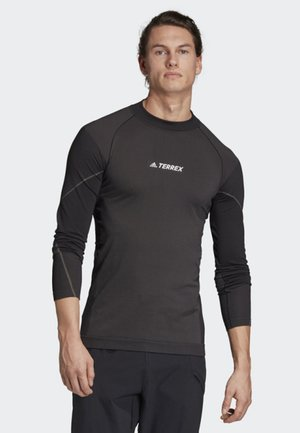 PRIMEKNIT BASE-LAYER LONG-SLEEVE TOP - T-shirt de sport - black