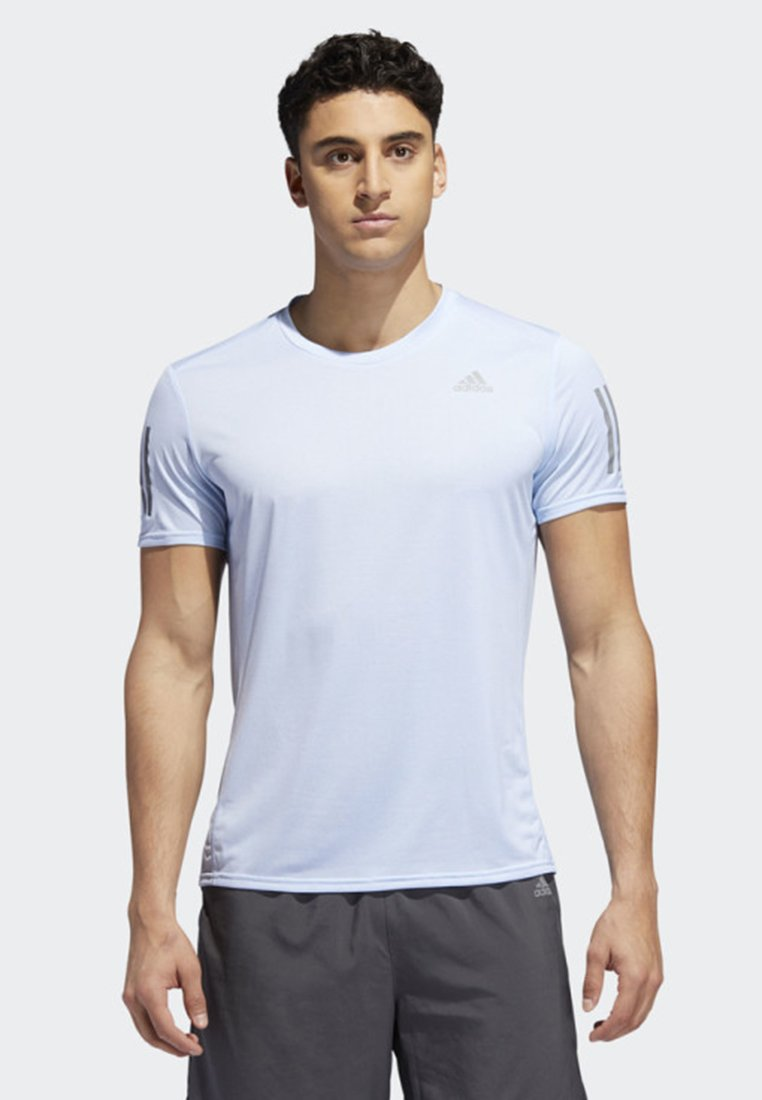 adidas Performance - RESPONSE COOLER T-SHIRT - Funktionströja - blue