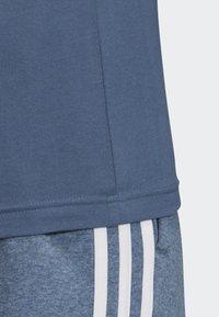 adidas Performance - ESSENTIALS 3-STRIPES T-SHIRT - Sportshirt - blue - 4