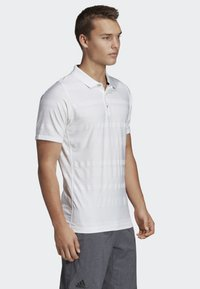 adidas Performance - MATCHCODE POLO SHIRT - Sports shirt - white - 3