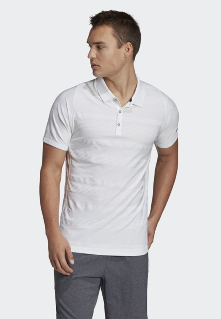 adidas Performance - MATCHCODE POLO SHIRT - Sports shirt - white