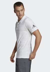 adidas Performance - MATCHCODE POLO SHIRT - Sports shirt - white - 2