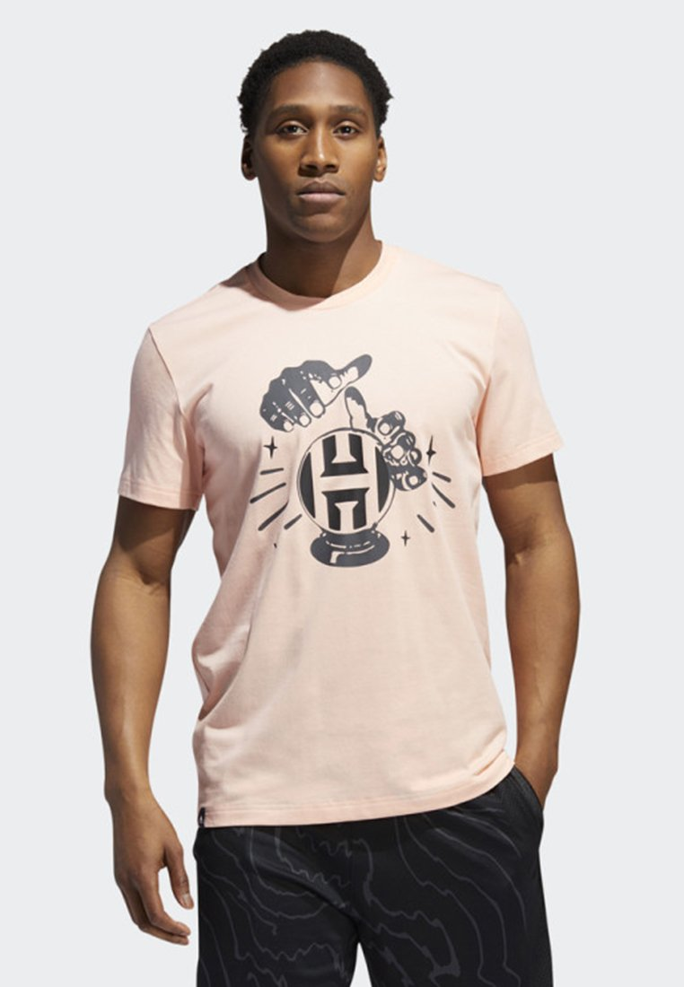 adidas Performance - HARDEN SWAGGER VERB T-SHIRT - T-shirt con stampa - pink