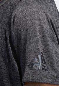 adidas Performance - FREELIFT 360 GRADIENT GRAPHIC T-SHIRT - Tekninen urheilupaita - black - 5