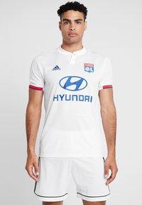 adidas Performance - OLYMPIQUE LYON  - Vereinsmannschaften - white - 0