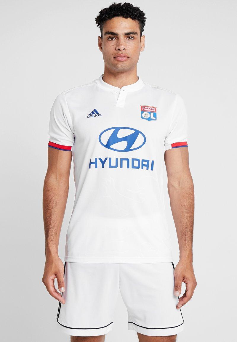 adidas Performance - OLYMPIQUE LYON  - Vereinsmannschaften - white