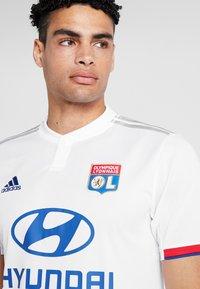 adidas Performance - OLYMPIQUE LYON  - Vereinsmannschaften - white - 3