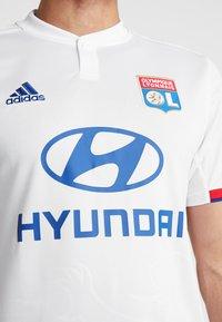 adidas Performance - OLYMPIQUE LYON  - Vereinsmannschaften - white - 5
