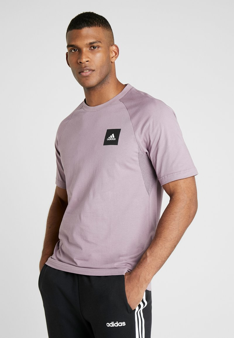 adidas Performance - Print T-shirt - legacy purple