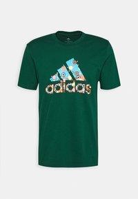 adidas Performance - BIT BOS - T-shirts med print - green - 4