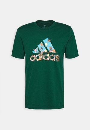 BIT BOS - Print T-shirt - green