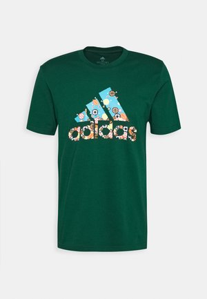 ATHLETICS SPORT SHORT SLEEVE GRAPHIC TEE - T-shirt con stampa - green