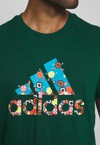 adidas Performance - BIT BOS - T-shirts med print - green - 5