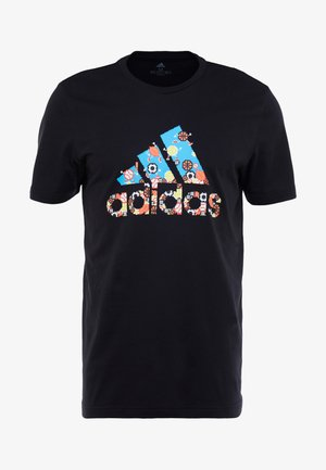 ATHLETICS SPORT SHORT SLEEVE GRAPHIC TEE - T-shirt con stampa - black