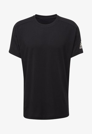 ID STADIUM T-SHIRT - Sportshirt - black