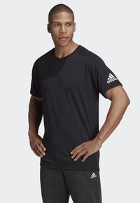 adidas Performance - ID STADIUM T-SHIRT - Sportshirt - black - 0