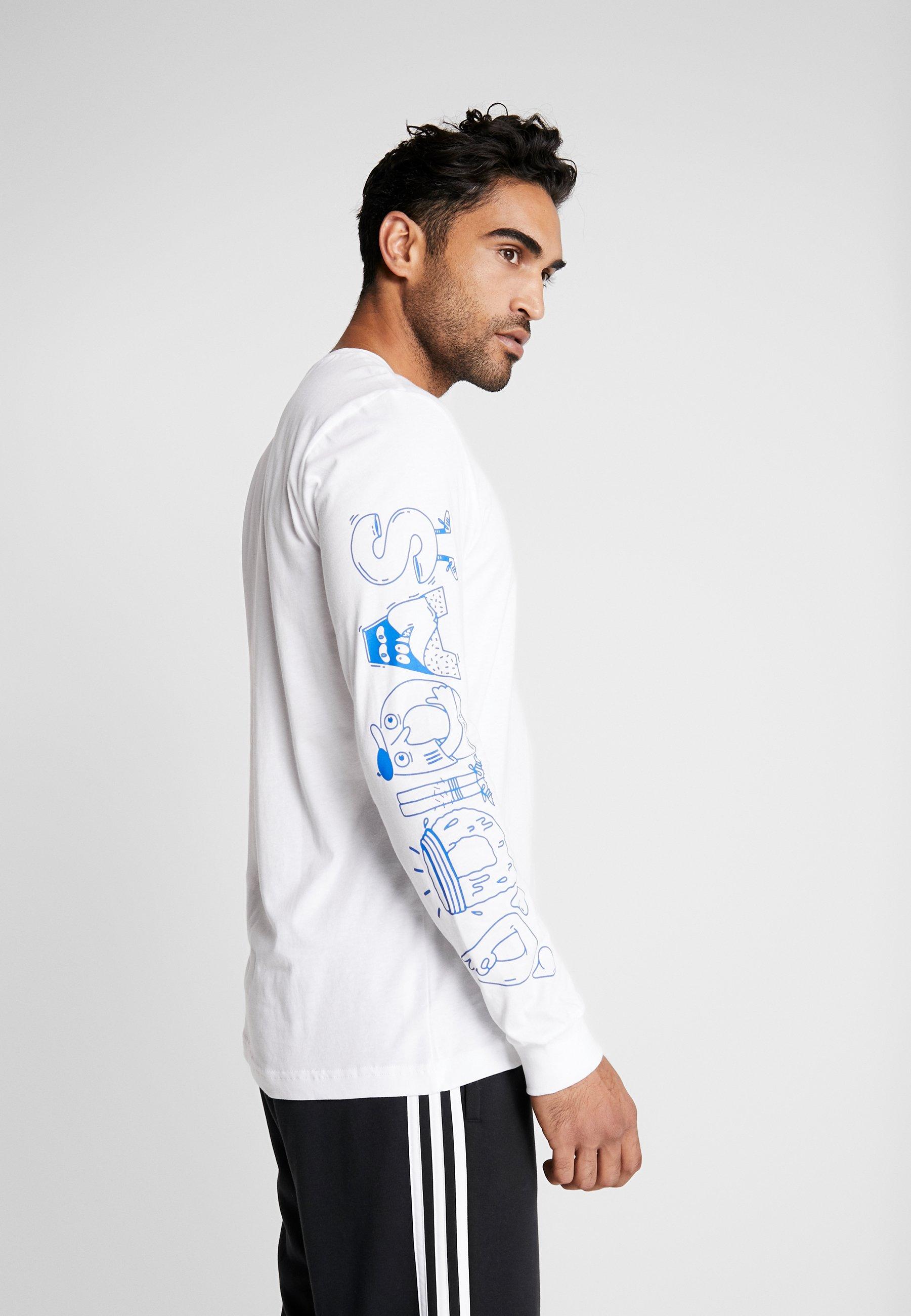 adidas Performance LINEAGE - Bluzka z długim rękawem - white