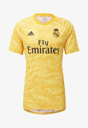 REAL MADRID HOME GOALKEEPER JERSEY - T-shirt print - yellow