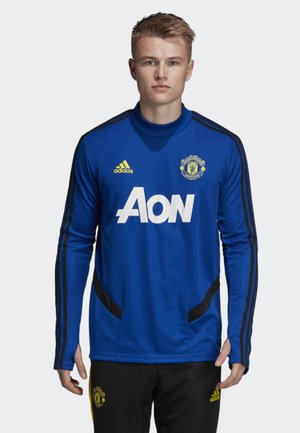 MANCHESTER UNITED TRAINING TOP - Article de supporter - blue