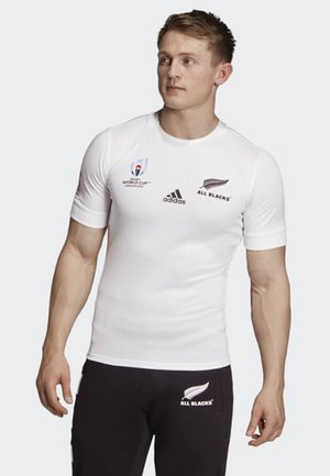 ALL BLACKS RUGBY WORLD CUP Y-3 AWAY JERSEY - T-shirt imprimé - white