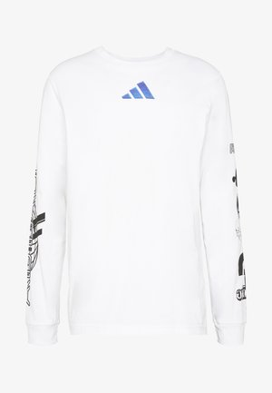 SPACE RACE LONGSLEEVE - Long sleeved top - white