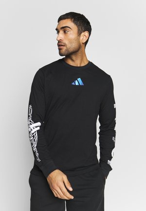 SPACE RACE LONGSLEEVE - Long sleeved top - black