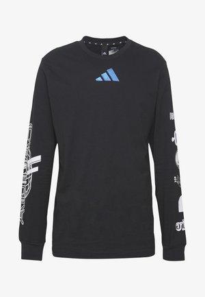 SPACE RACE LONGSLEEVE - T-shirt à manches longues - black