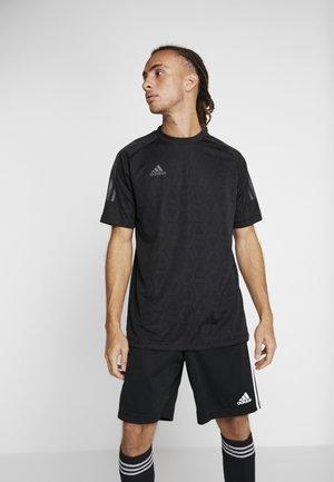 TAN - T-shirts print - black