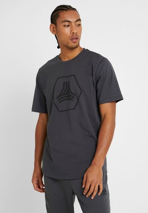 TAN LOGO TEE - Camiseta estampada - grey