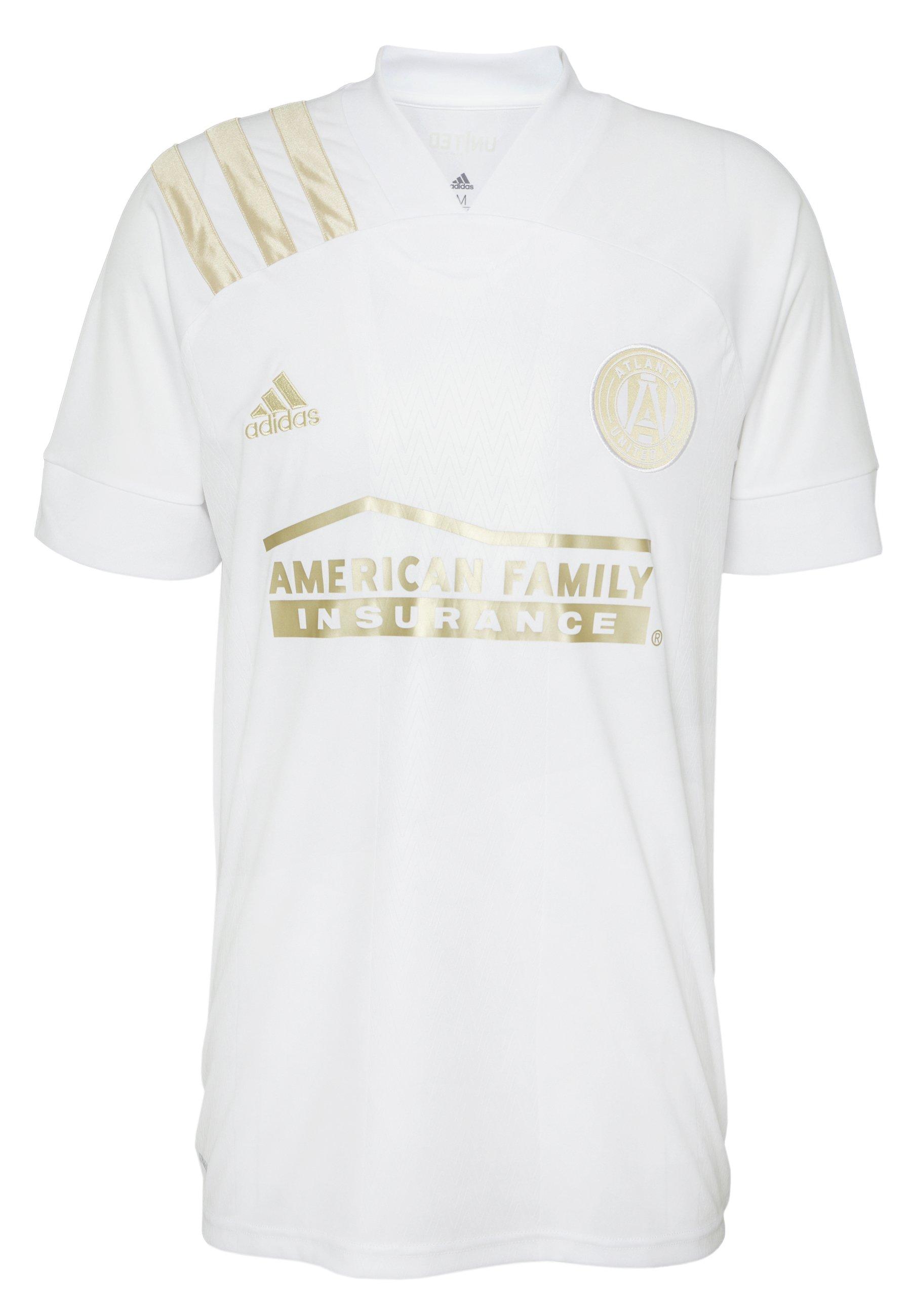 adidas Performance ATL AWAY - Klubtrøjer - white/gold