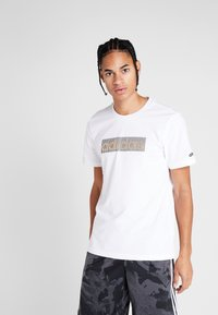 adidas Performance - Camiseta estampada - white - 0